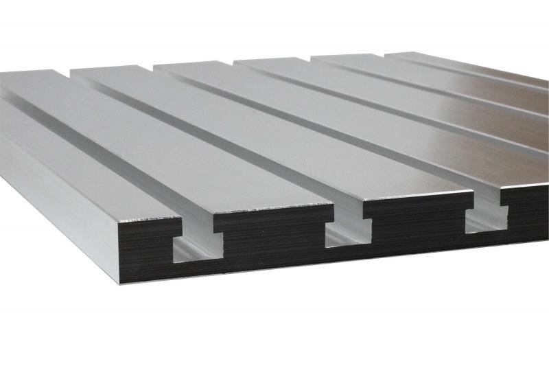 Table rainur e en aluminium mecamag - Table en aluminium ...
